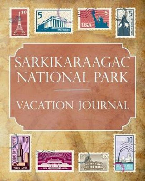 Sarkikaraagac National Park Vacation Journal: Blank Lined Sarkikaraagac National Park (Turkey) Travel Journal/Notebook/Diary Gift Idea for People Who