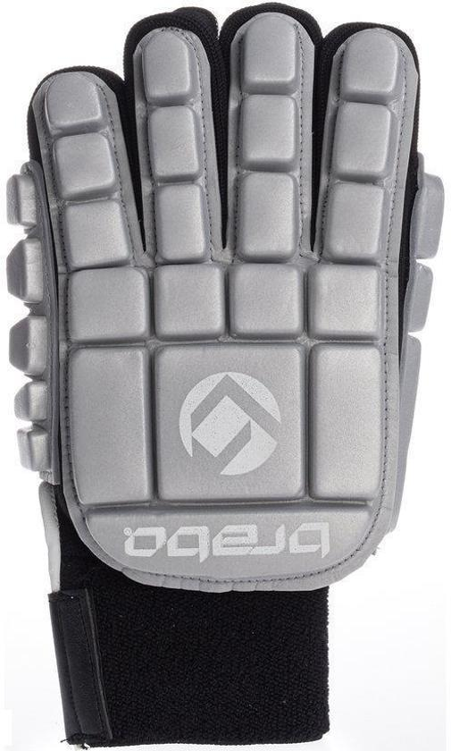 Brabo BP1064 Foam Glove F3 Indoor Jr. - Zaalhockeyhandschoen - Links - Maat XS - Zilver