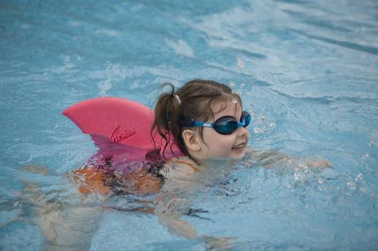 SwimFin zwemgordel blauw