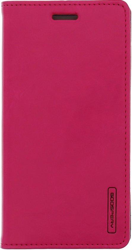Mercury Blue Moon Wallet Case - Samsung Galaxy J1 (2016) - Roze in Heimolen
