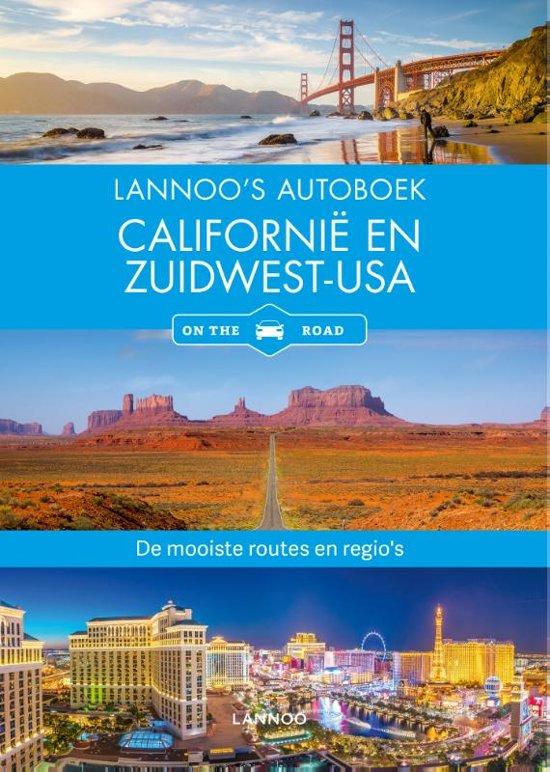 Boek cover Lannoos autoboek - Californië en Zuidwest-USA van Horst Schmidt-Brummer (Paperback)