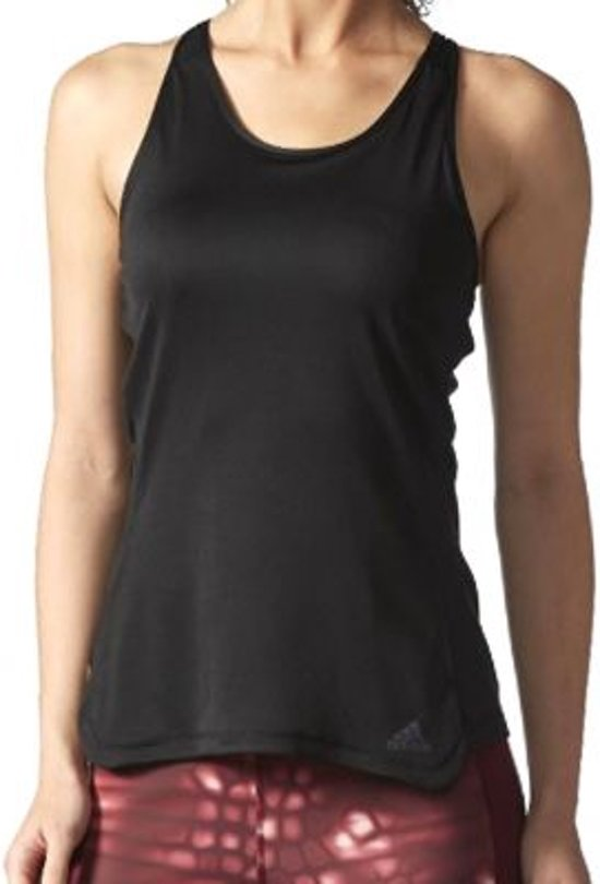 d547aa31b54 bol.com   adidas Response Cup Tank Top - Sportshirt - Dames - XL - Black