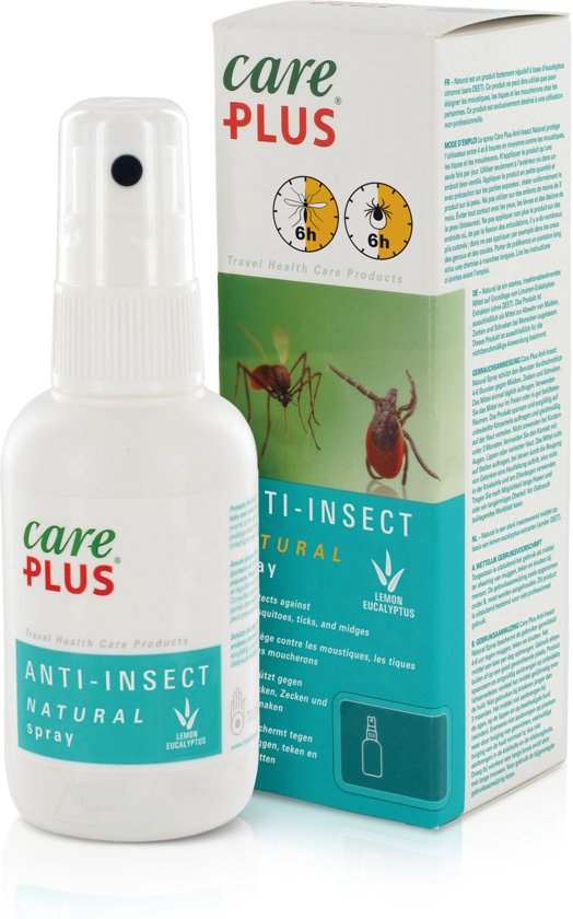 Afbeeldingsresultaat voor care plus anti insect spray