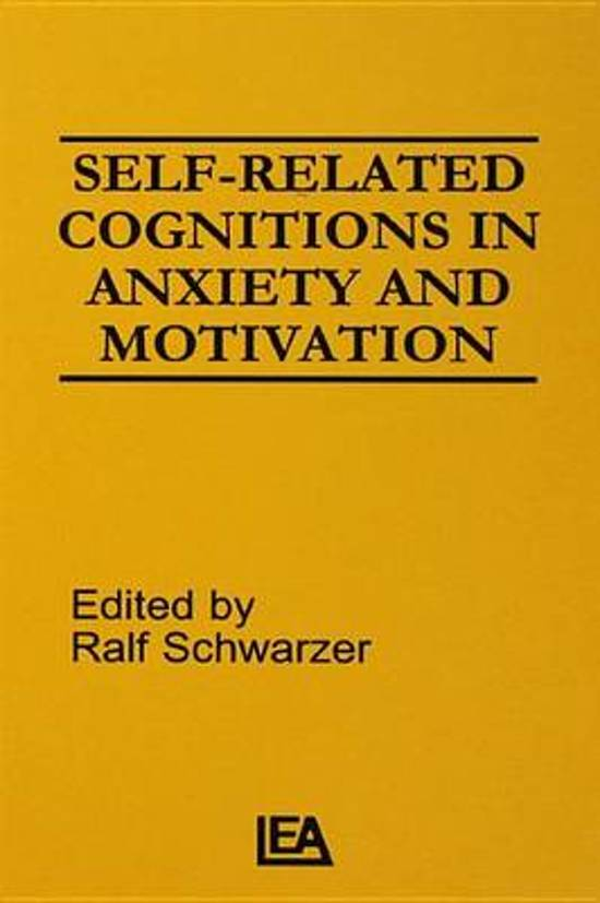 Self-related Cognitions in Anxiety and Motivation