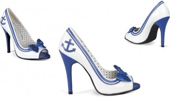Matrozen schoenen voor dames met anker 37