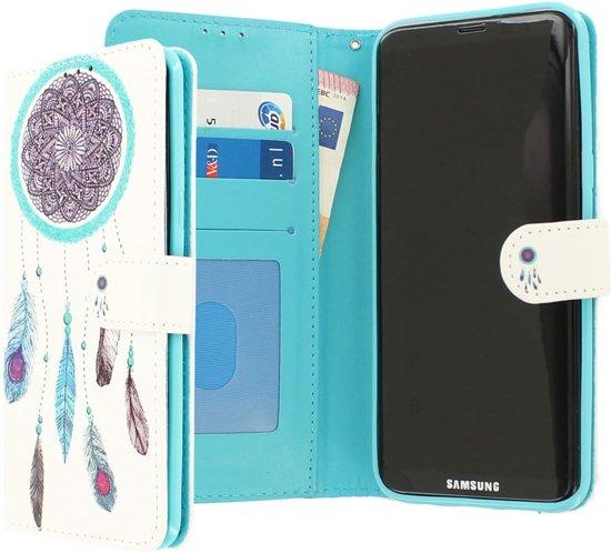 CaseBoutique Samsung Galaxy S8+ hoesje wit kunstleer
