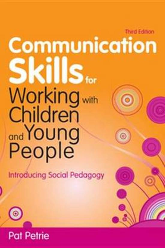 unit 301 communication and professional relationships with children and young people Unit 301 communication and professional relationships with children, young people and adults cross ref to unit 305 11, 12, 21, 31, 32 a,b,c, 33, 41.