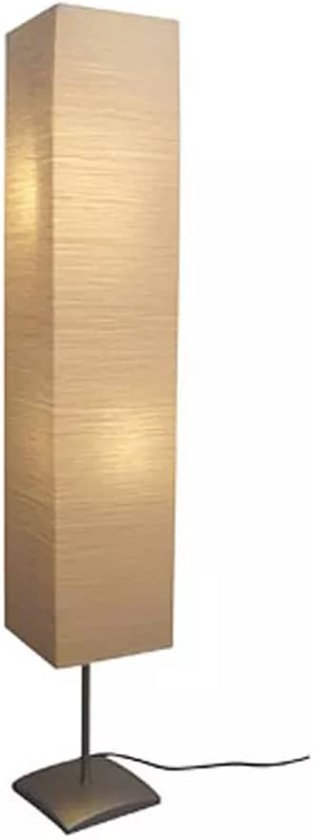 vidaXL - Vloerlamp - 135 cm - met papieren lampenkap