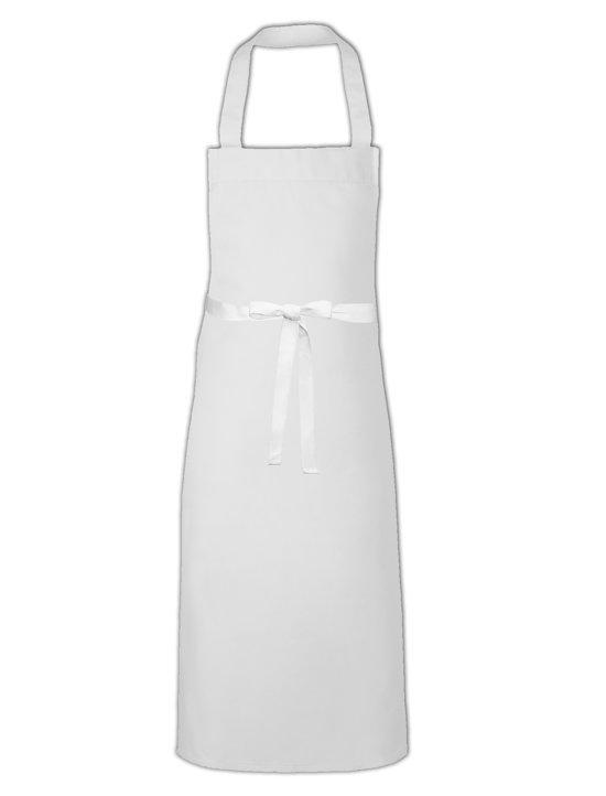 Link Kitchenwear Multifunctionele Keuken- en Barbecueschort, in de kleur Wit 110 x 73cm