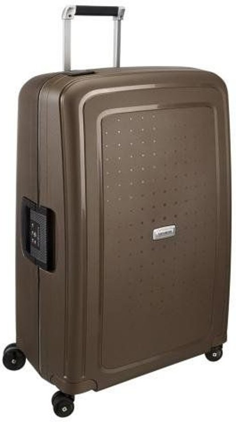 Samsonite S'Cure Dlx Spinner Reiskoffer - 75 cm - Metallic Bronze
