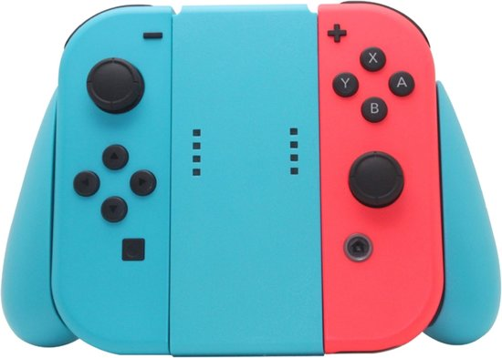 Shop4 - Nintendo Switch - Joy-Con Controller Grip Blauw