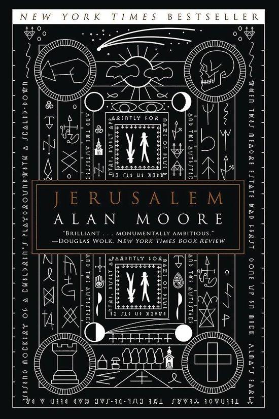Boek cover Jerusalem van Alan Moore (Paperback)