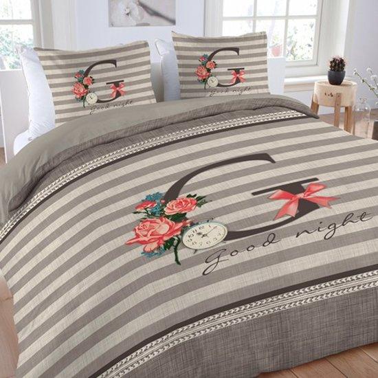 Essara Goodnight Flower - Taupe