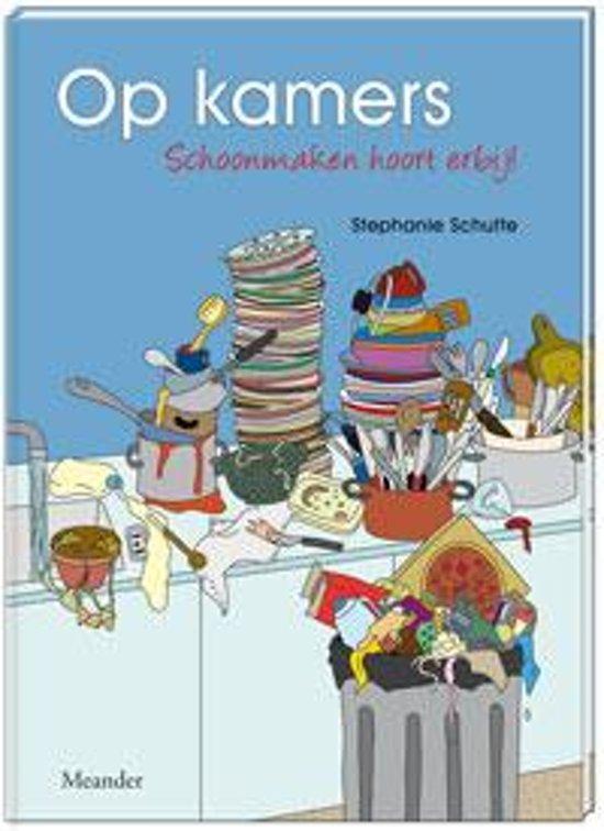 Boek cover Op kamers van Stephanie Schutte (Paperback)