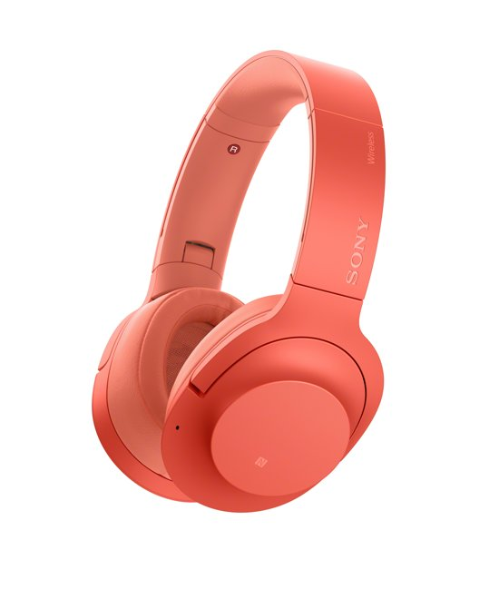 Sony h.ear WH-H900N - Draadloze over-ear koptelefoon met Noise Cancelling - Rood