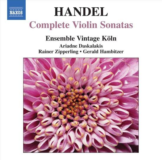 Ensemble Vintage Koln - Handel: Compl. Violin Sonatas