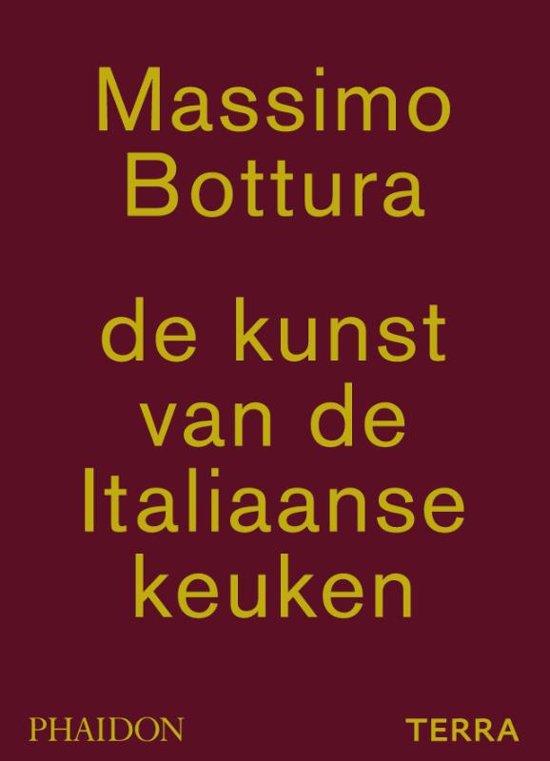 Boek cover De kunst van de Italiaanse keuken van Massimo Bottura (Hardcover)