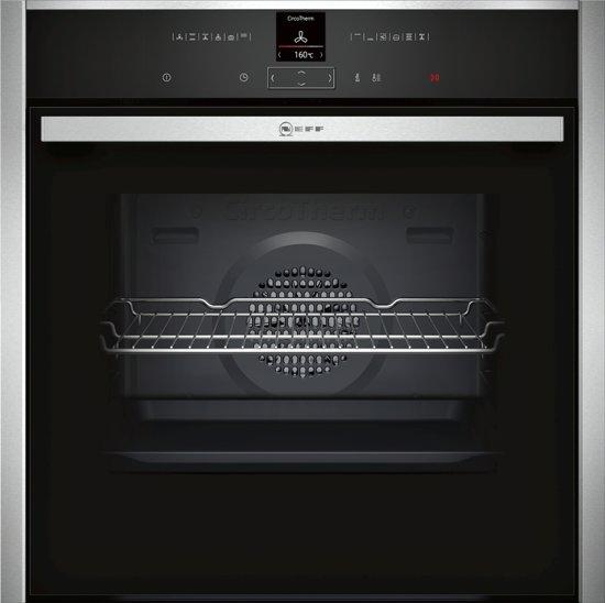 Neff B17CR22N1 Elektrische oven 71l 3600W A+ Zwart, Roestvrijstaal oven