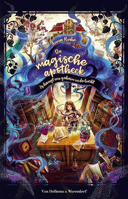 Boek cover De magische apotheek van Anna Ruhe (Hardcover)