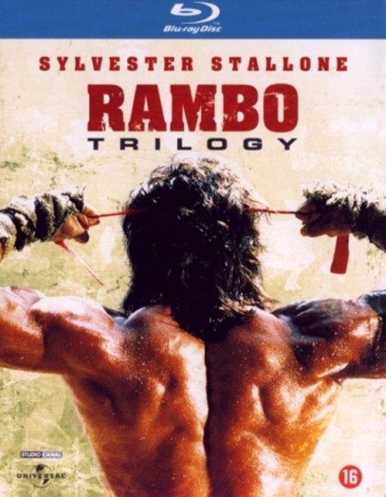 Cover van de film 'Rambo Trilogy'