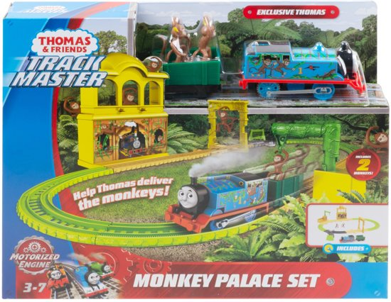 Thomas & Friends TrackMaster - Motorised Apenpaleis speelset