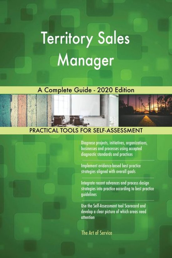 Territory Sales Manager A Complete Guide - 2020 Edition