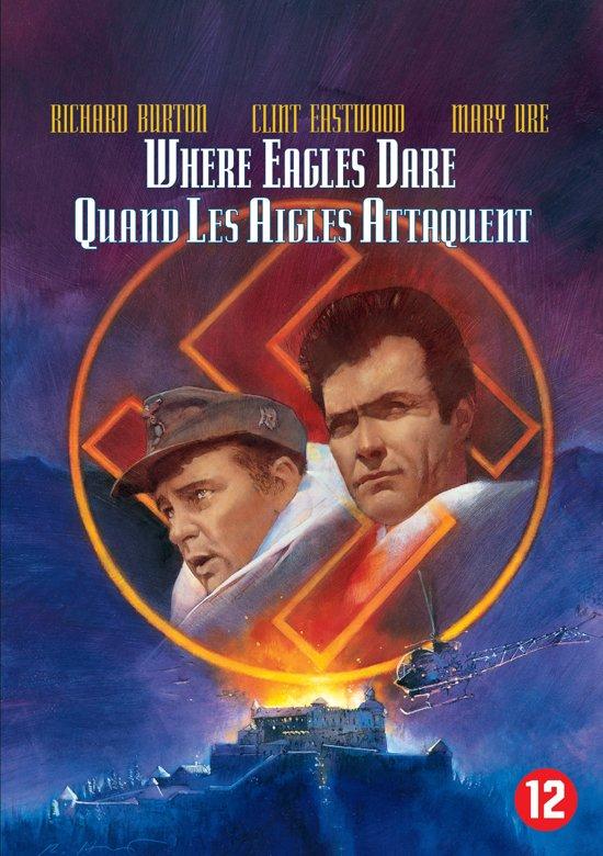 Cover van de film 'Where Eagles Dare'