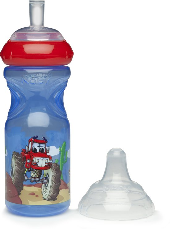 Nûby - Emotion Sport-Sipper Drinkbeker - Rood
