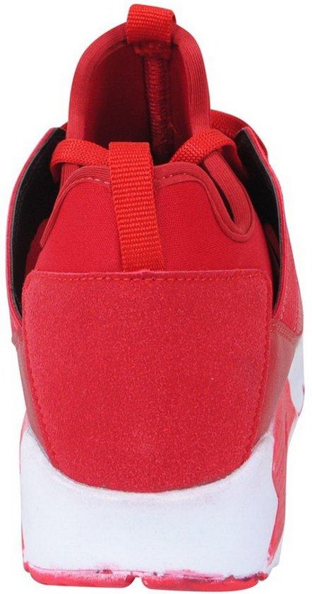 Sneakers Rood Heren Maat 41 Suede Ryt Lage RUEPxqwv
