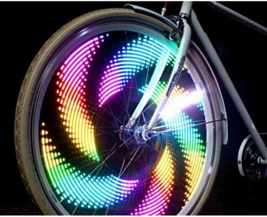 bol.com | Fietswiel verlichting LED - verschillende kleuren ...