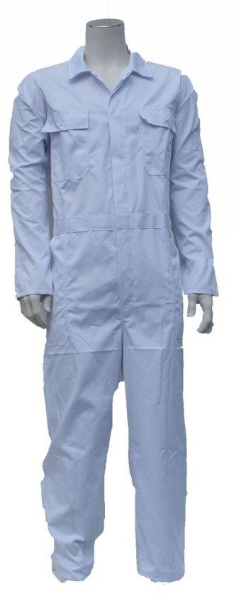 Yoworkwear Overall polyester/katoen wit maat 53