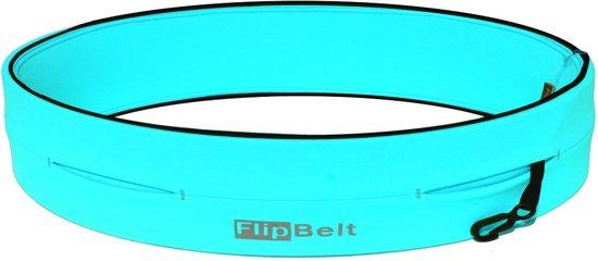 Flipbelt – Running belt - Hardloopbelt – Hardloopriem - Aqua – XXL