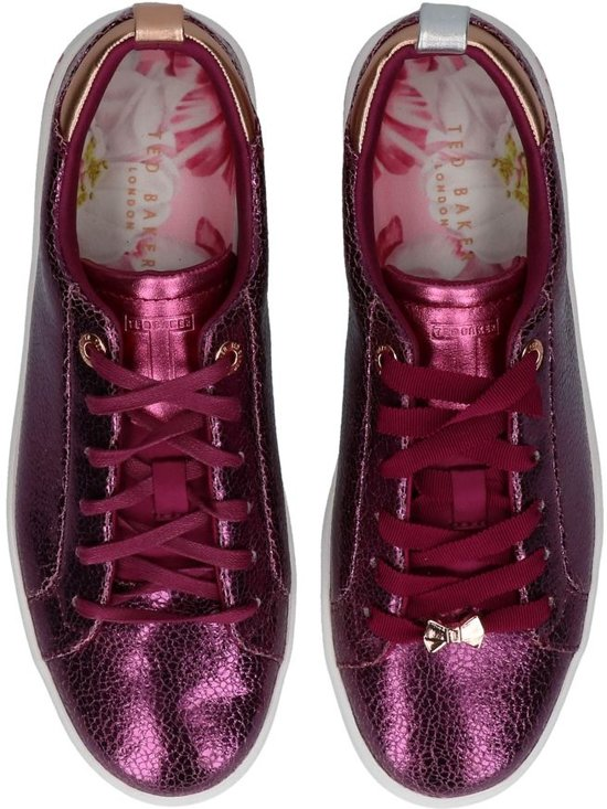 Fuxia Baker Geklede Sneakers Luoci Ted PUPx7aOn
