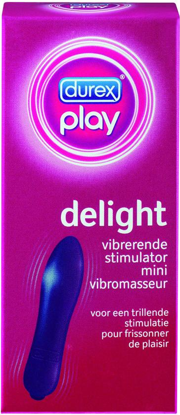 Durex Play Delight Stimulator Vibrator - Paars