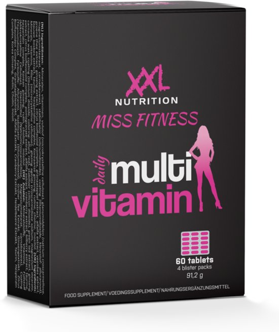 Miss Fitness Multivit 1+1 Gratis - 60 Tabletten 1+1 Gratis