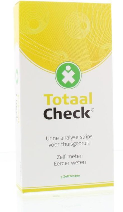 Totaal-Check Urinewegtest Zelftest Urine analyse