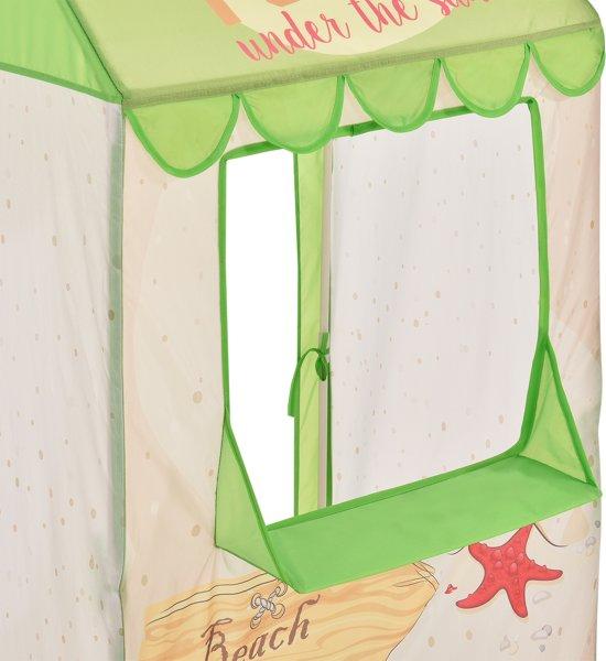 [casa.pro]® Strandhuisje speeltent - ballenbak voor kinderen
