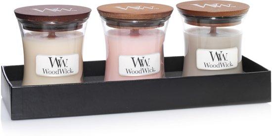 Woodwick Luxe Giftset Mini Jar