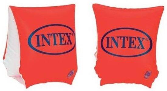 Intex Zwemvleugeltjes Deluxe Armbands Oranje 18 T/m 30 Kg