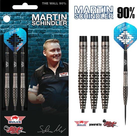 Bull's Steeltip Martin Schindler The Wall 90% Match Dart 23 gram Dartpijlen
