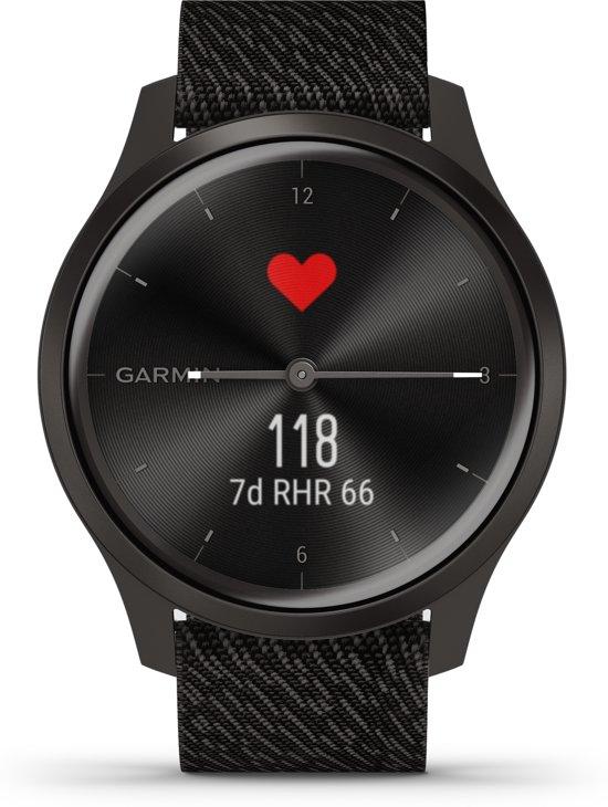 Garmin Vivomove Style - Smartwatch - Black Pepper