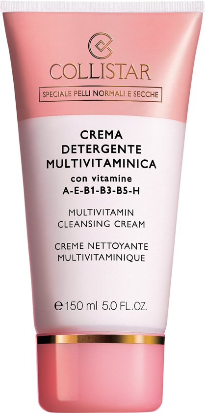 Collistar Gezicht Multivitamin Cleansing - 150 ml - Reinigingscreme