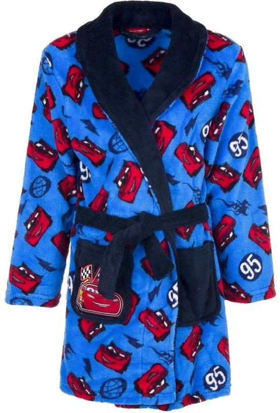 7963810d127 Cars fleece badjas blauw voor jongens 104
