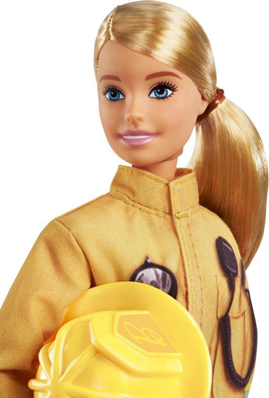 Barbie Brandweervrouw - Barbiepop