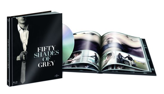 DVD cover van Fifty Shades Of Grey (Collectors Edition)