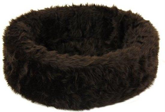 Petcomfort Bontmand Hondenmand/kattenmand - 46x40x13 cm - Bruin