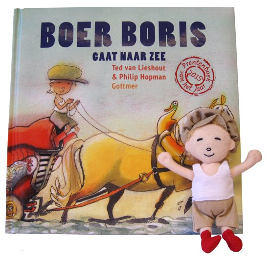 Boek cover Boer Boris  - Boer Boris gaat naar zee van Ted van Lieshout (Hardcover)
