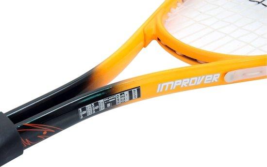 Unsquashable Squashracket Improver Oranje/zwart