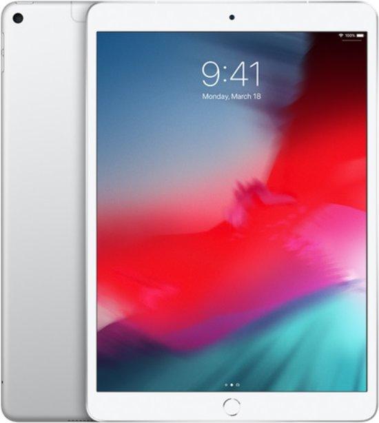 Apple iPad Air (2019) 10,5 inch Zilver 64GB Wifi + 4G