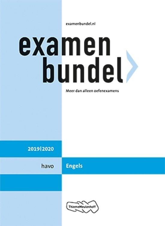 Afbeelding van Examenbundel havo Engels 2019/2020